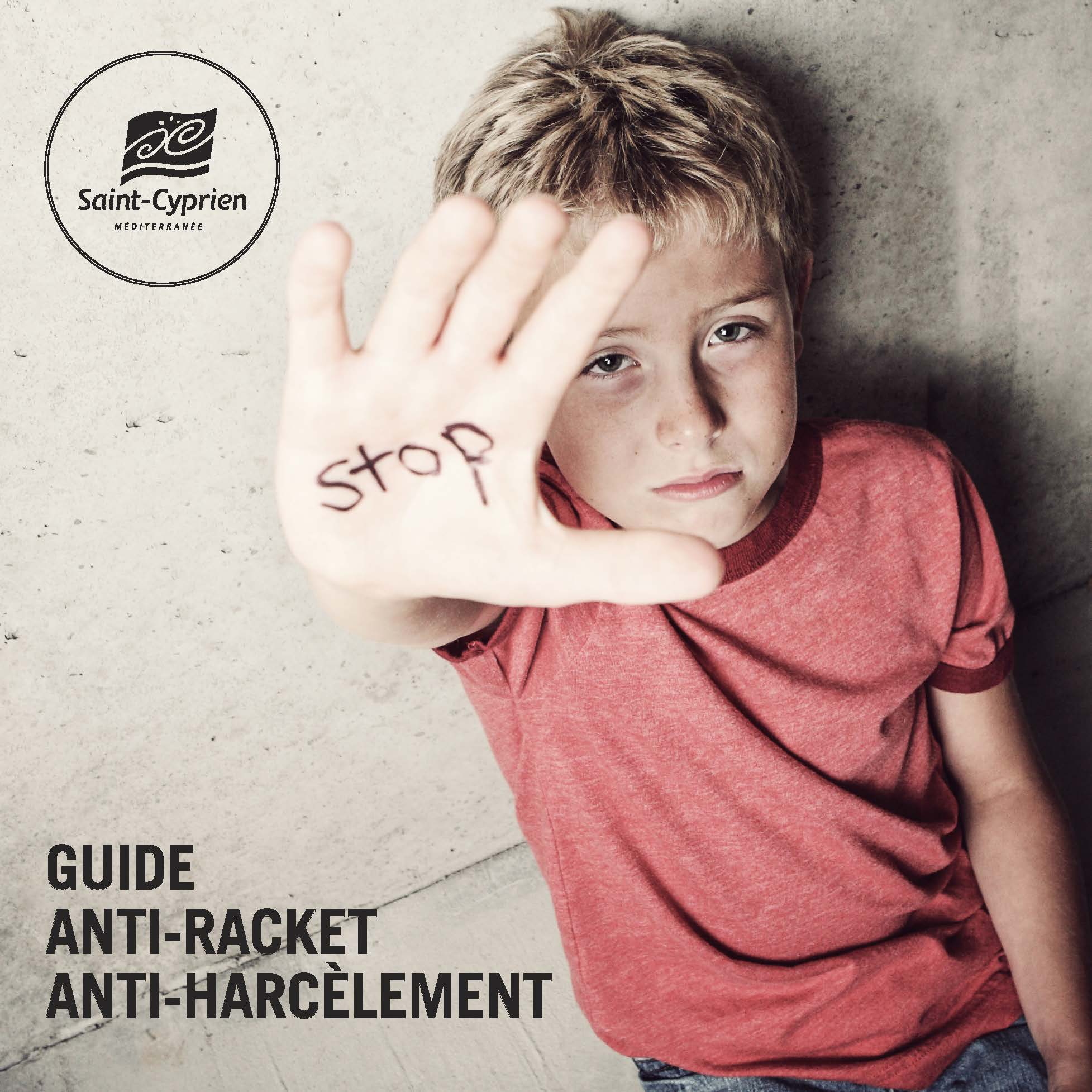 Pages de guide anti harcelement